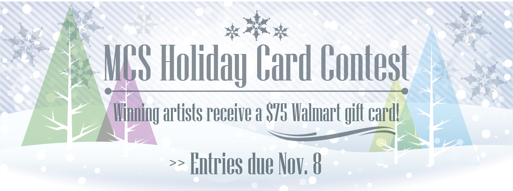 MCS holiday card contest 2019